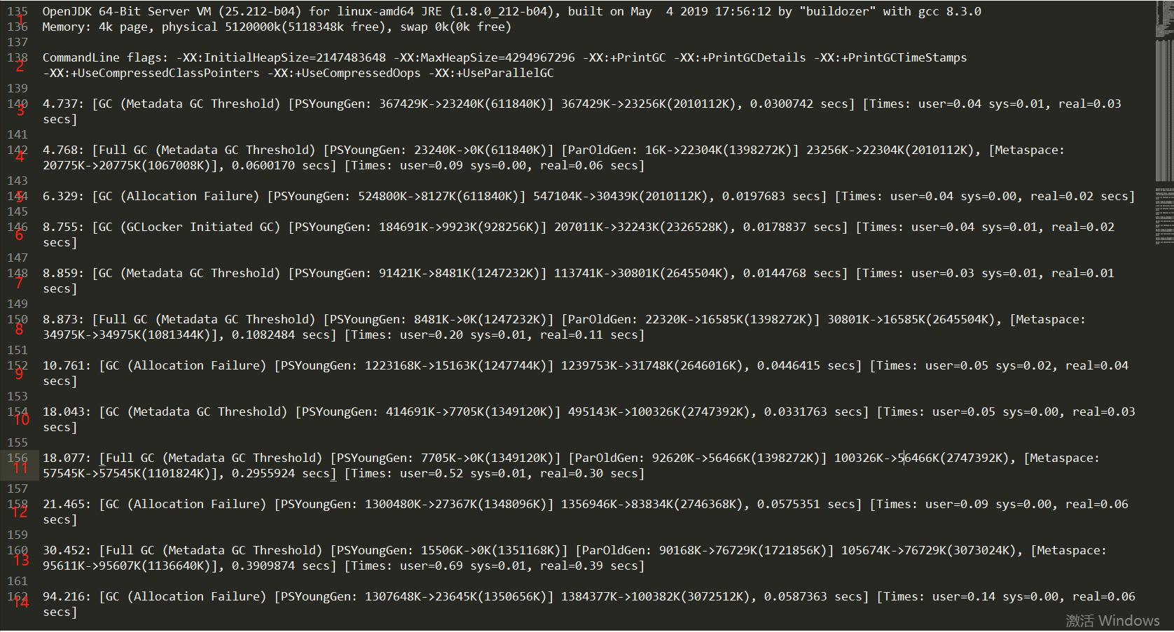 JVM小册(1)------jstat和Parallel GC日志