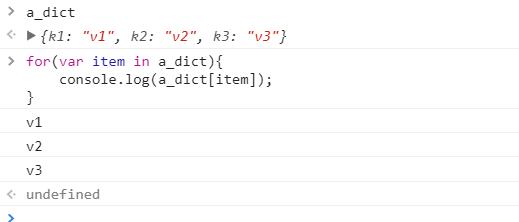 JS--数组和字典