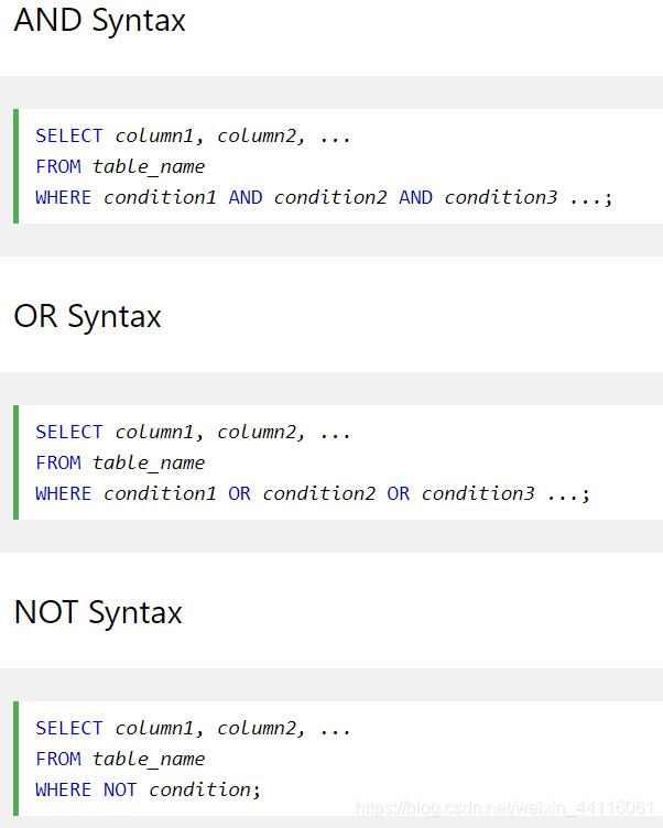 MySQL基础