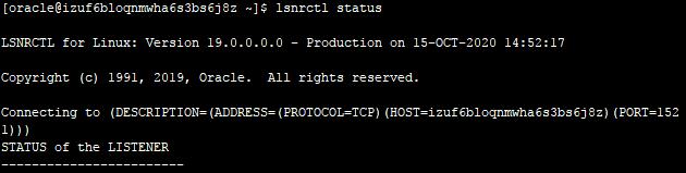 阿里云轻量应用服务器Linux-Centos7下Oracle19c的配置