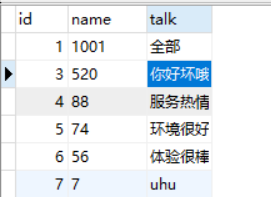 python操作之更新数据库中某个字段的数据