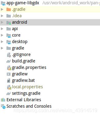 Android创建LibGdx项目