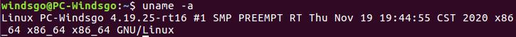 UBUNTU-16.04.07和PREEMPT_RT日志