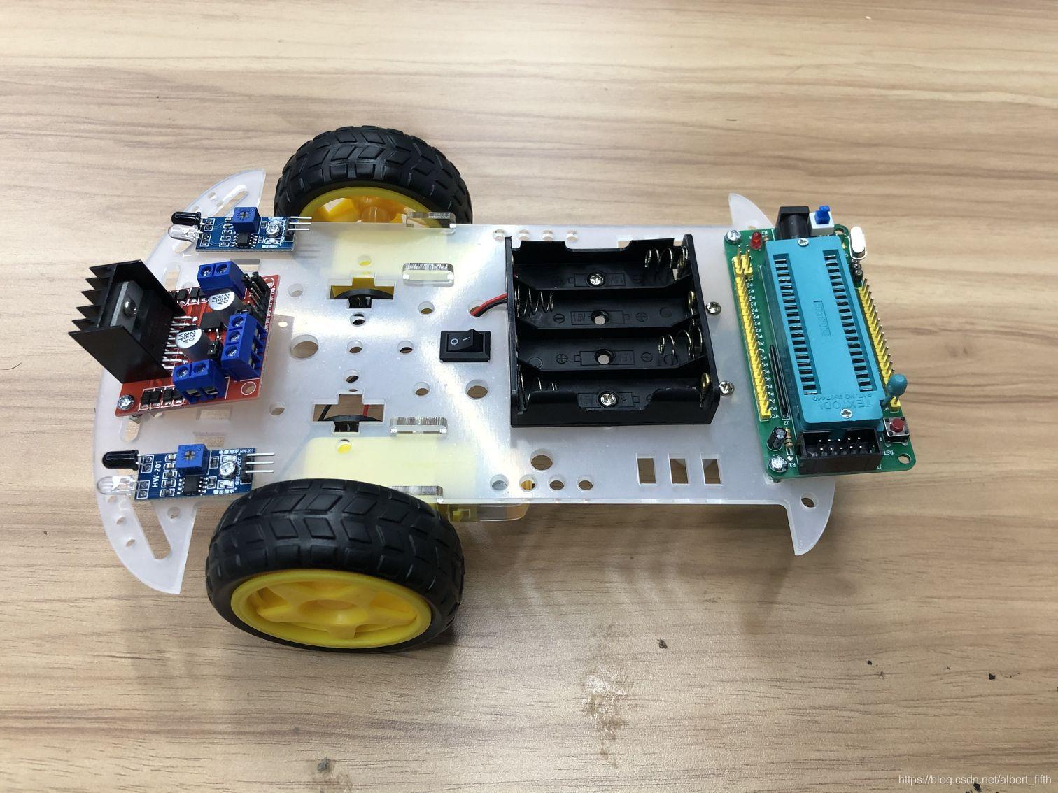 DIY一个红外避障小车!(1)硬件部分的安装