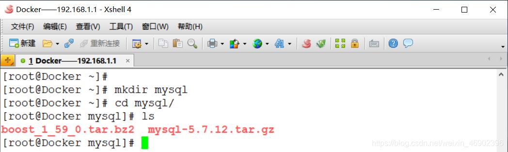 Docker实战——部署Nginx镜像容器、Tomcat镜像容器、MySQL镜像容器