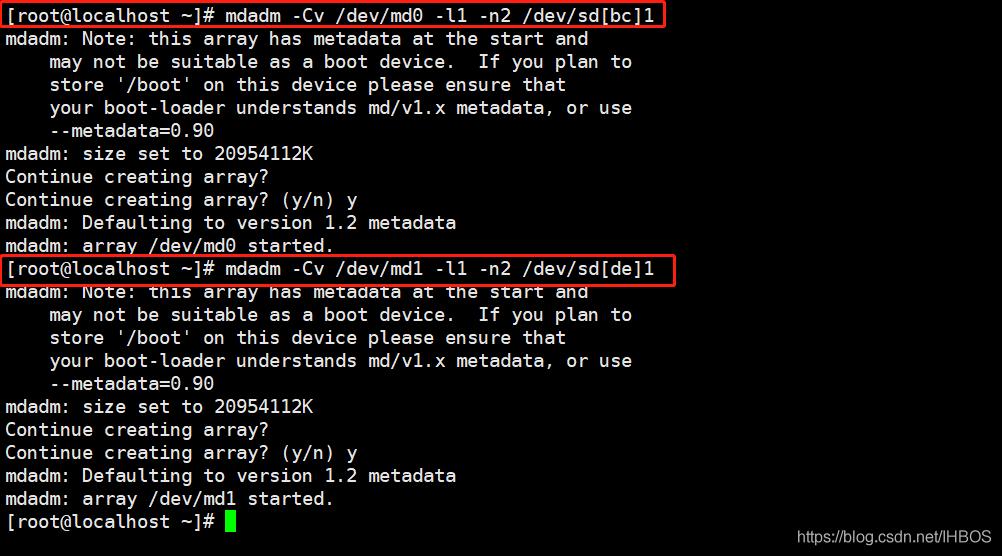 Linux服务器硬件及RAID配置(操作实验详细图解)