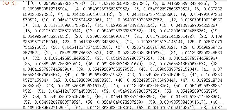使用Gensim库对文本进行词袋、TF-IDF和n-gram方法向量化处理