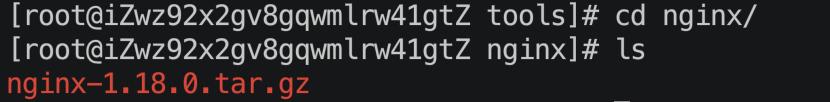 01_Nginx下载安装