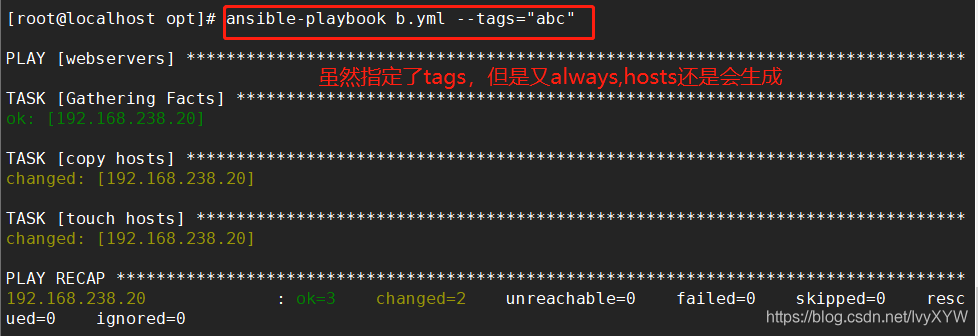 ansible------playbook多样化编写:Templates、Tags、Roles