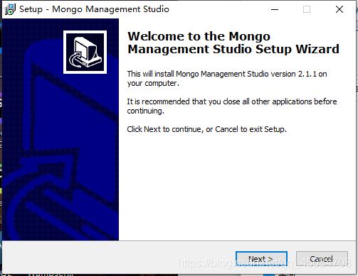 MongoDB从安装到可视化工具使用