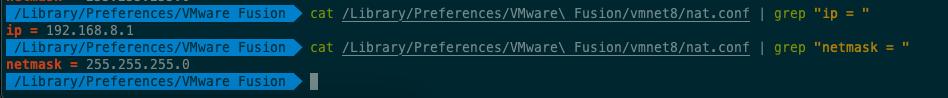 【Linux   搭建环境】Mac环境下,使用 VMware Fusion安装并配置 CentOS,并配置静态 IP