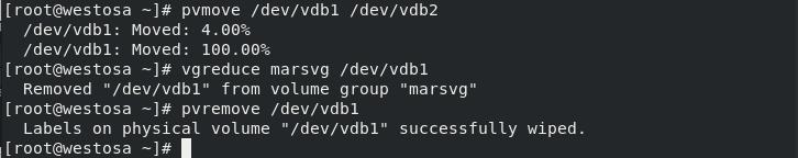 linux中的高级存储管理之逻辑卷管理器LVM