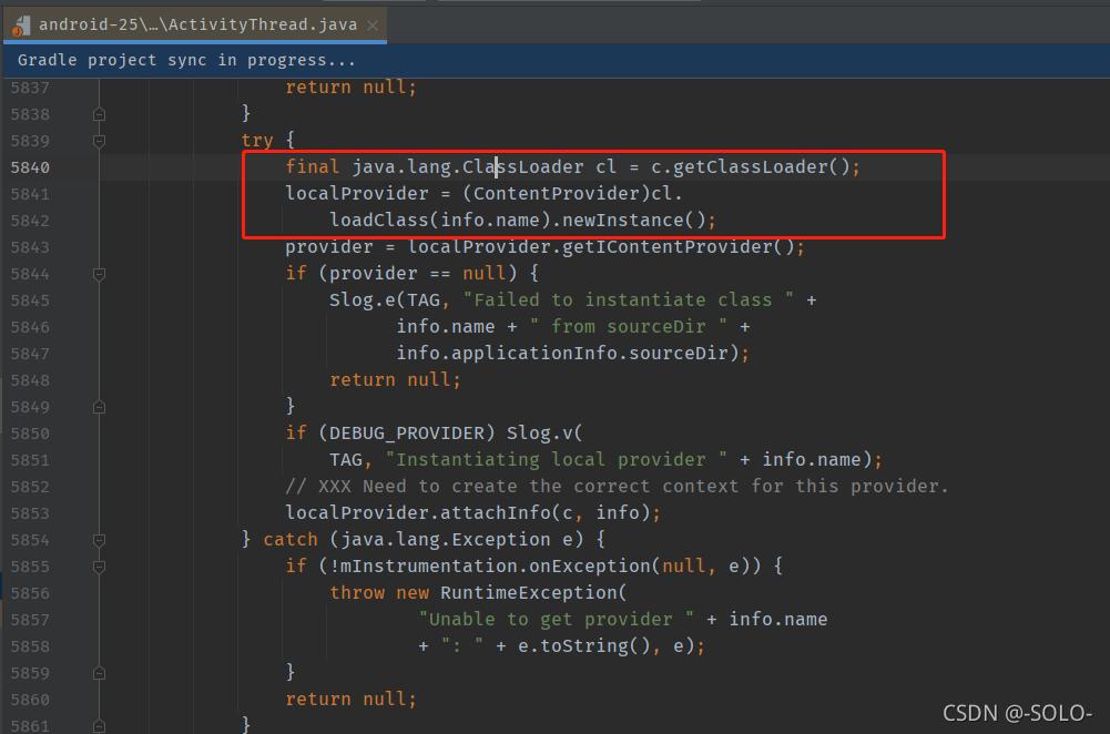 Android 控制 ContentProvider的创建
