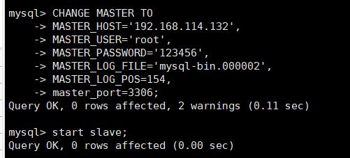 MySQL主从复制搭建之一主一从双主双从搭建