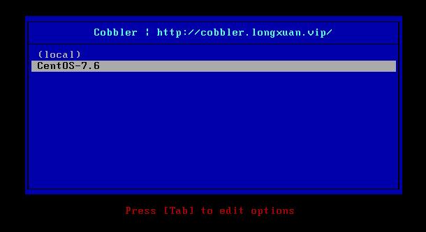 搭建cobbler自动化安装系统
