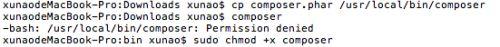 mac下载指定版本的composer