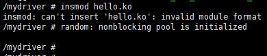 "ko与内核版本不一致,出现""invalid module format""的问题"
