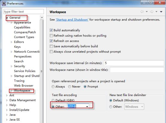 Eclipse之JAVA开发环境配置