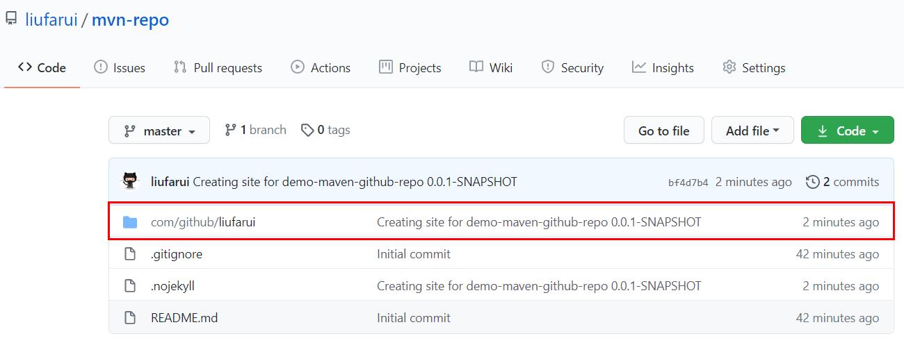 如何使用GitHub创建Maven私有仓库