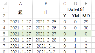 替DateDif哭诉一把(Excel函数集团)