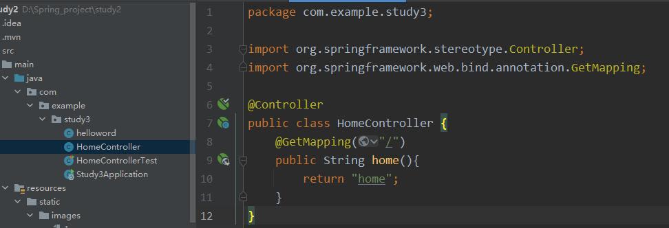 idea 2020+SpringBoot 创建hello world以及简单的模板渲染