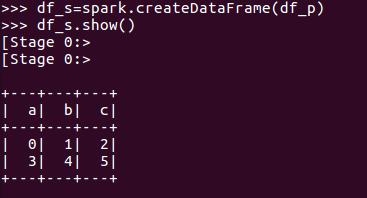 从RDD创建DataFrame