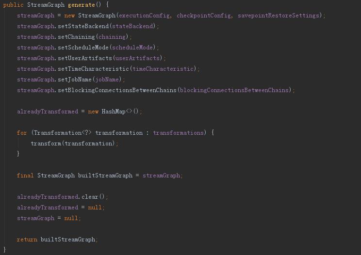 flink1.10版local模式提交job流程分析