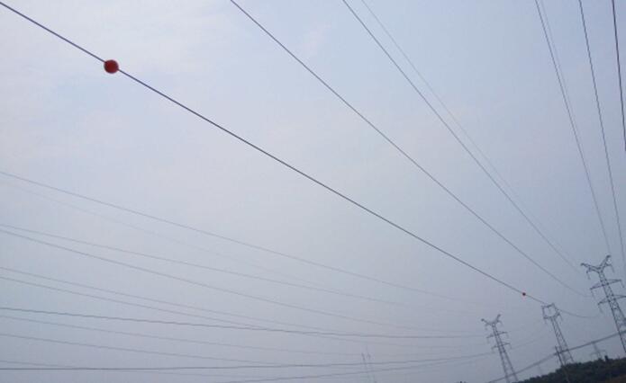 高压实时警示器,防护电网外破隐患