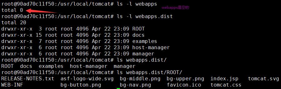 Docker中启动Tomcat访问报404 - 未找到