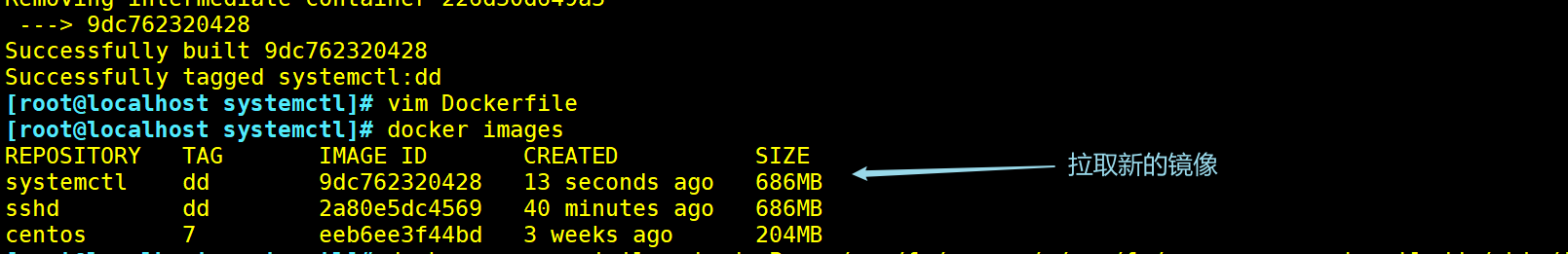 Dockerfile运用(ssh,systemctl,tomcat,mysql)