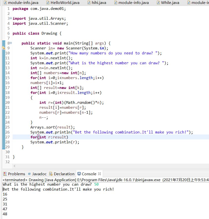 学习Java Day10
