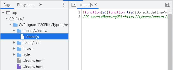 修改Typora的代码以支持文件夹和文件混合排序