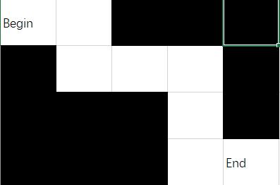 【Javascript + Vue】实现对任意迷宫图片的自动寻路