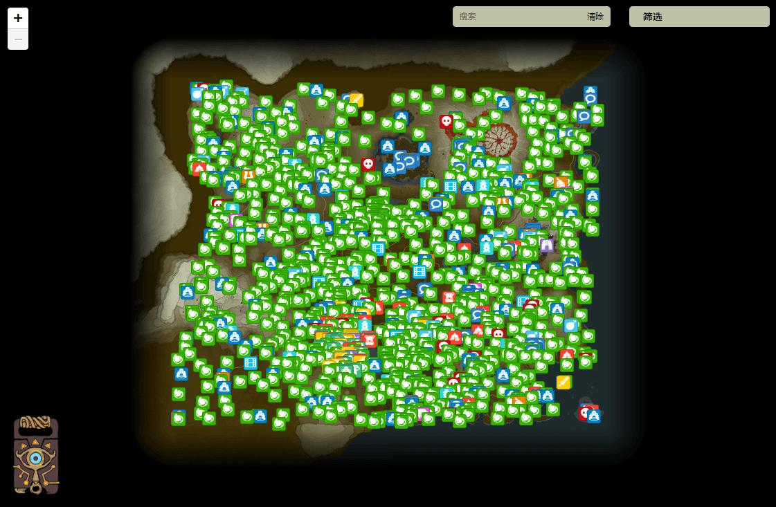 前端瓦片地图加载之塞尔达传说旷野之息