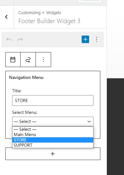 Wordpresss建站笔记:Astra主题修改底部菜单