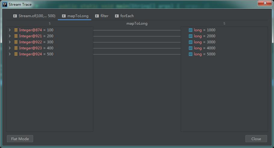 IntelliJ IDEA 调试 Java 8 Stream,实在太香了!