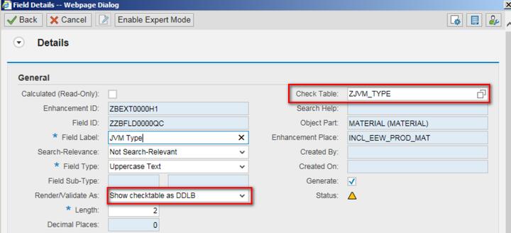 SAP CRM Application Extension Tool类型为Code List的扩展字段实现原理