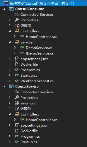.net core学习笔记,组件篇:服务的注册与发现(Consul)初篇