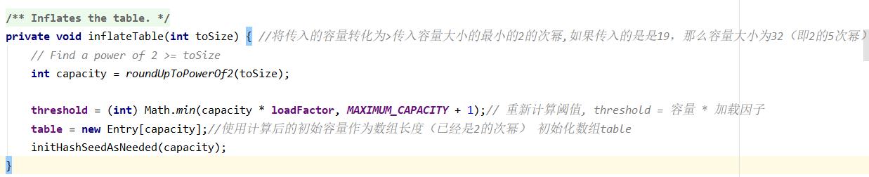 JDK1.7 HashMap源码分析