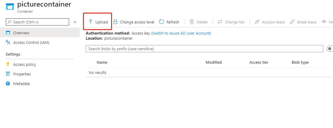 Azure Storage 系列(二) .NET Core Web 项目中操作 Blob 存储