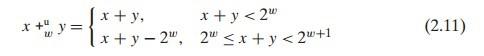 CSAPP =2= 信息的表示和处理
